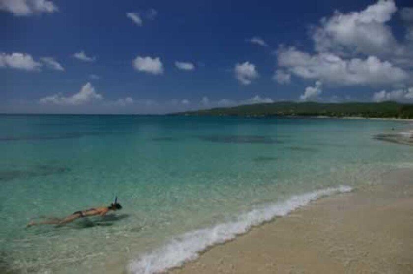Summer view in Frederiksted, St. Croix, U.S. Virgin Islands.