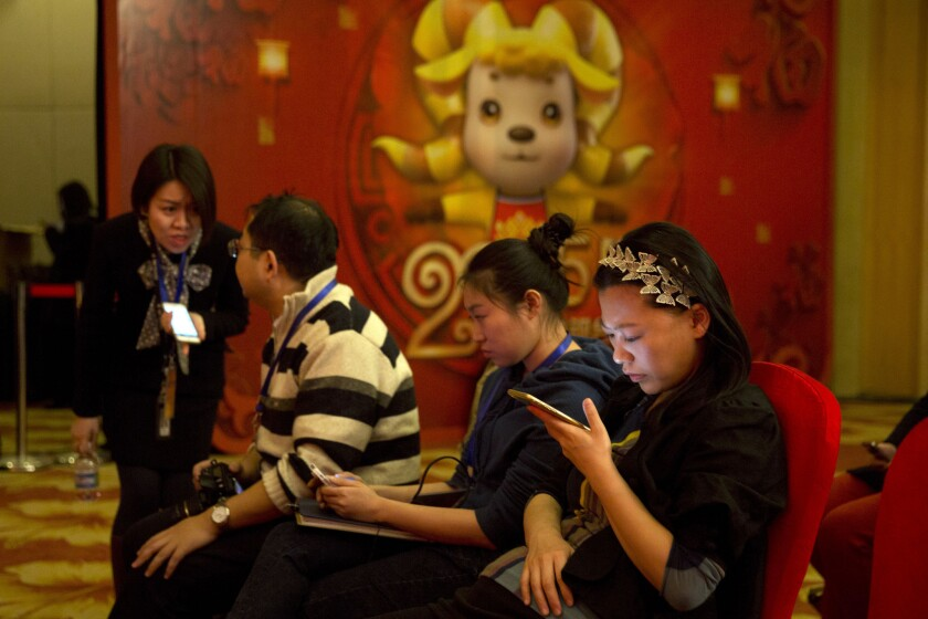 China Internet use