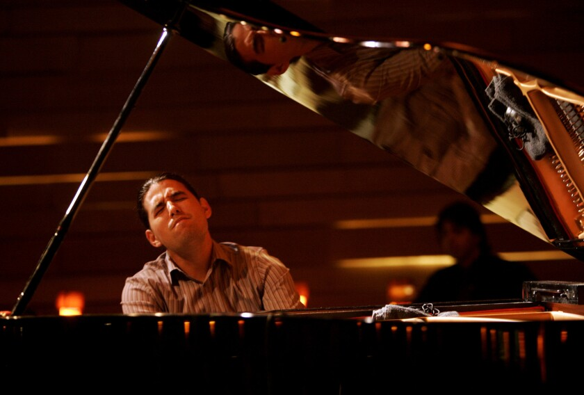 Cuban pianist Alfredo Rodriguez performs in 2009. He is scheduled to perform Thursday night at the Apolis Common Gallery in Los Angeles.