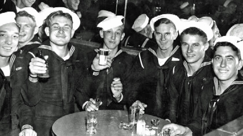 """A still from the documentary """"USS Indianapolis: The Legacy."""""""