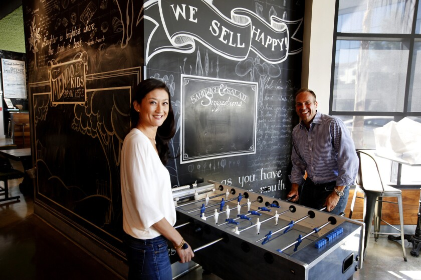 Ellen Chen and Mario Del Pero built the sandwich chain Mendocino Farms based on the lessons they learned in an earlier venture.