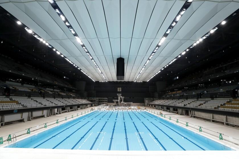 Olympics Tokyo Aquatics Center