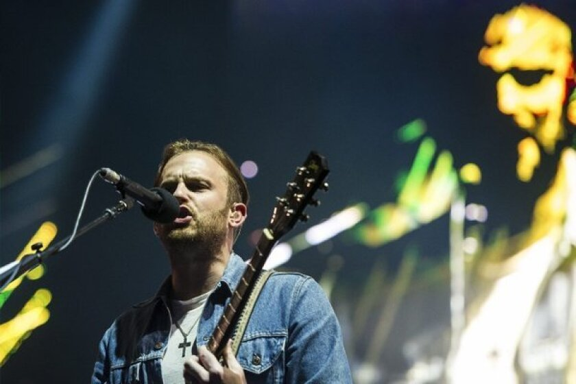 "Caleb Followill and his band Kings of Leon have a new single out, ""Supersoaker"""