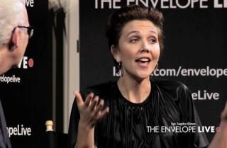 Maggie Gyllenhaal reveals the benefits of releasing 'The Kindergarten Teacher' on Netflix