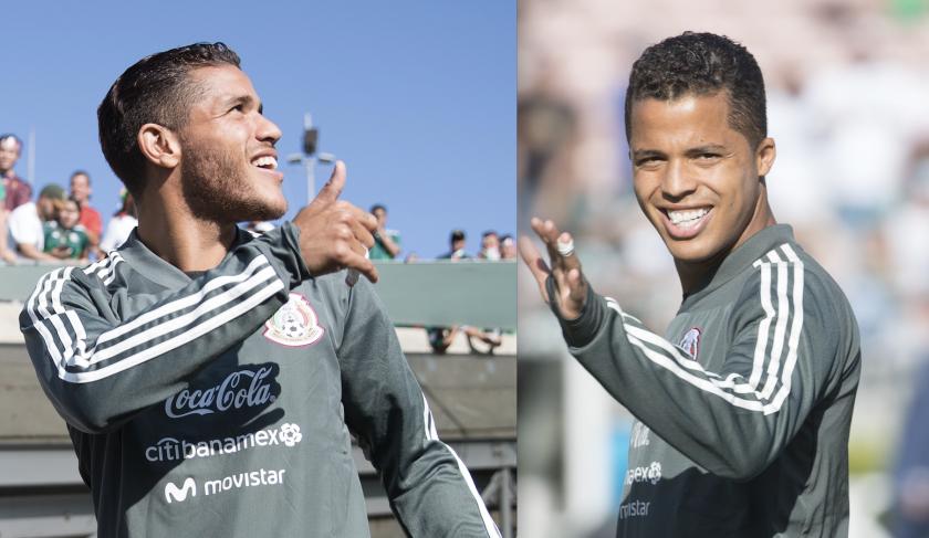 Jonathan y Giovani Dos Santos, hermanos en el Tri rumbo a la Copa del Mundo.