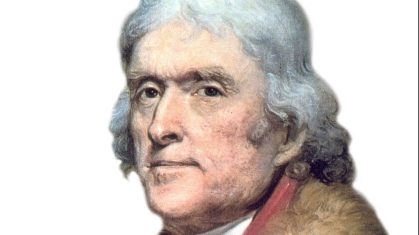 Thomas Jefferson Helped Define Americanism As The Pursuit Of