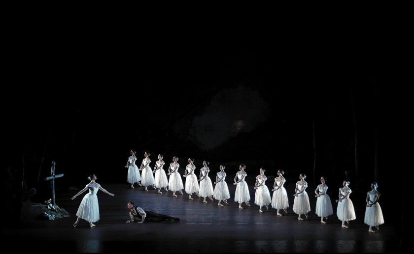 """The New Zealand Ballet's """"Giselle"""" makes its U.S. debut in L.A. on Jan. 31."""