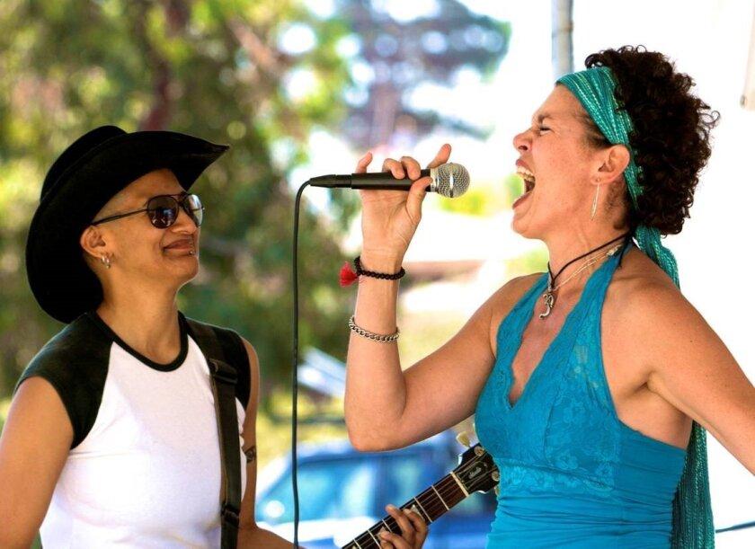 Alicia Champion (left) and Danielle LoPresti.