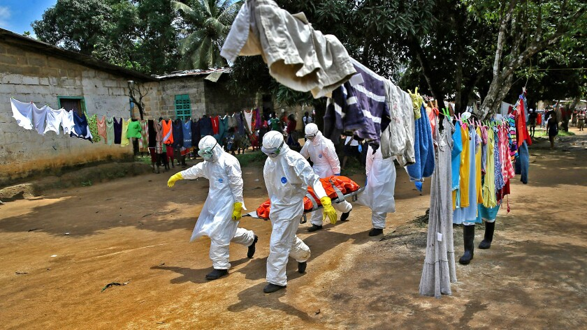 Ebola in New Kru Town, Liberia