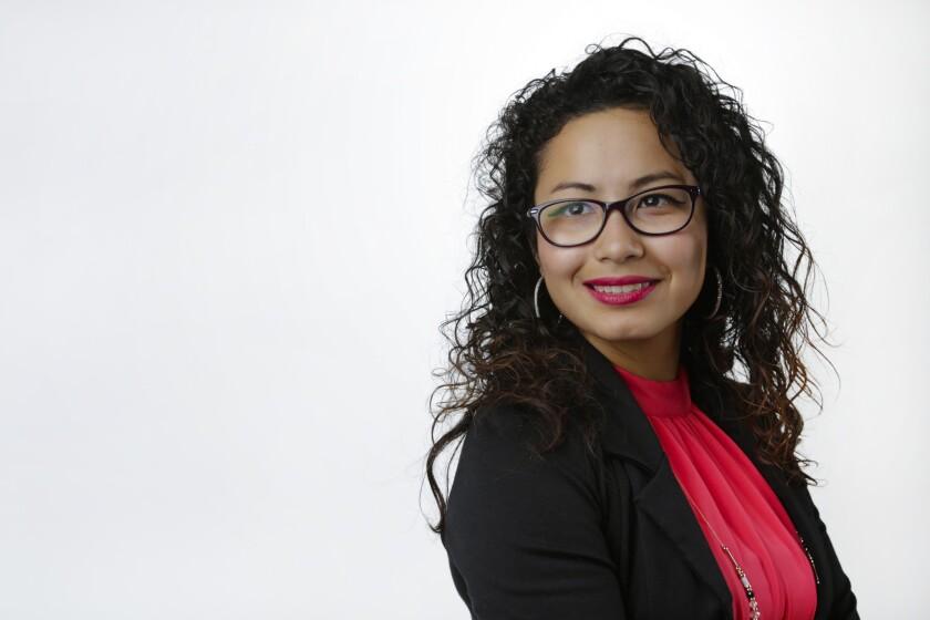 Ana Escobar, winner of Latino Champions young Latina category