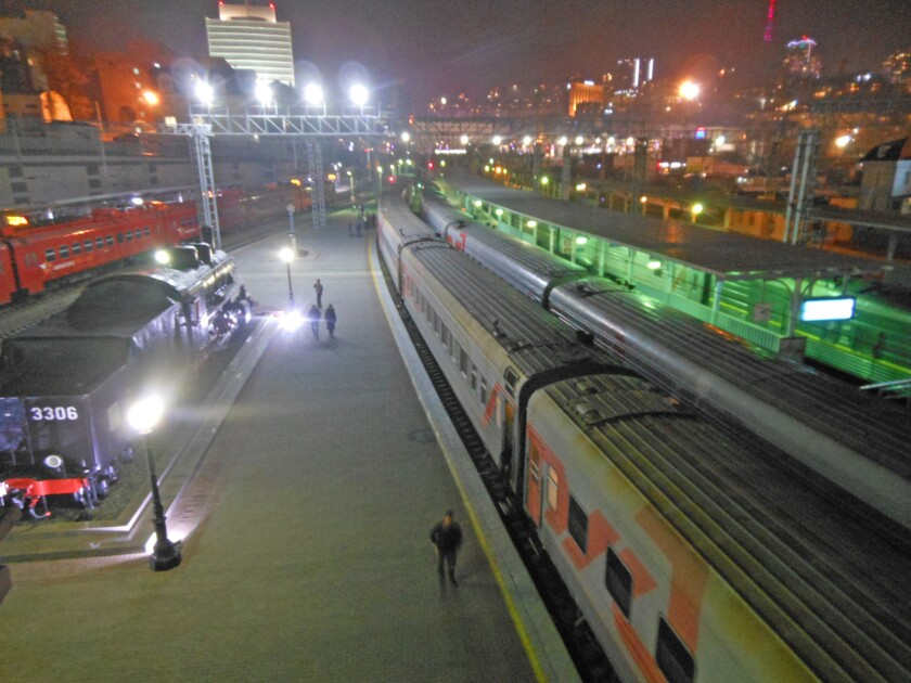 Vladivostok, the Trans-Siberian's eastern endpoint, was closed to foreigner