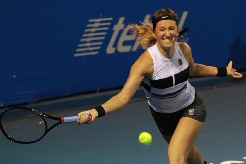 La tenista bielorusa Victoria Azarenka. EFE/Archivo