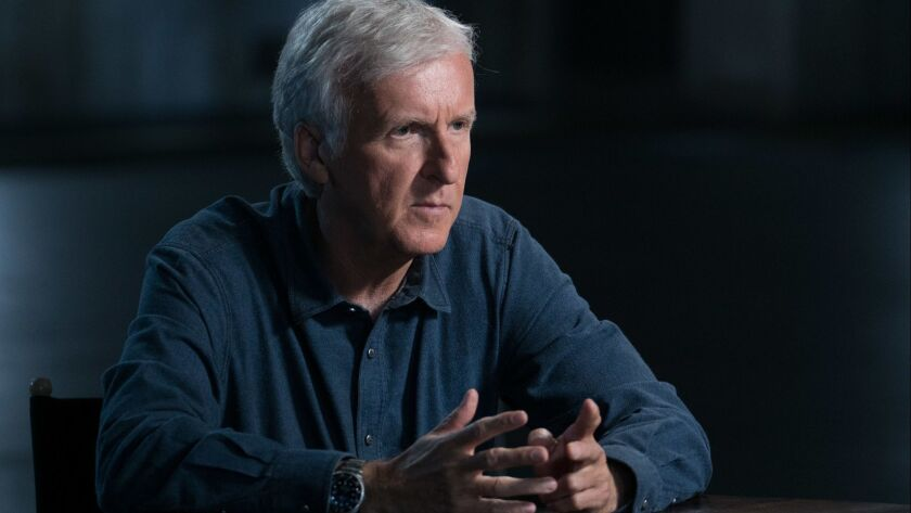 "James Cameron interviews his sci-fi making peers on ""AMC Visionaries: James Cameron's Story of Science Fiction."""