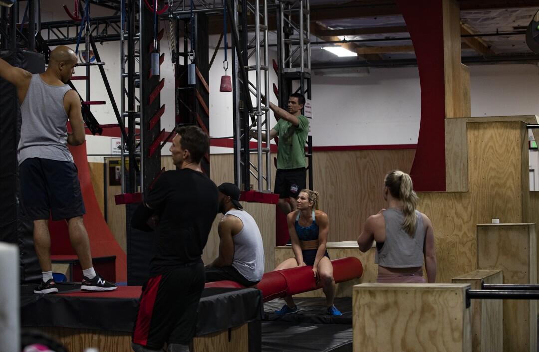 Column One: Ninja Warriors love to test themselves against