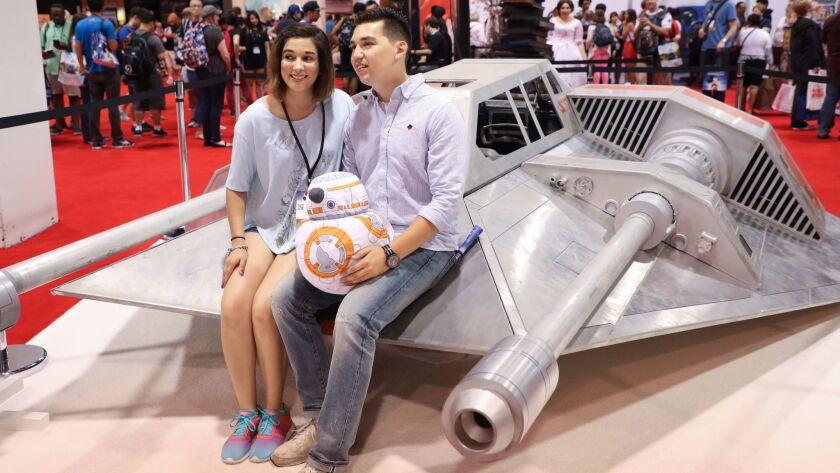 Disney fans at D23 Expo