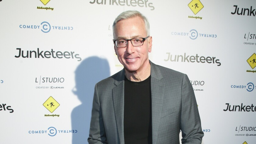 """Dr. Drew Pinsky attends a launch party for """"Junketeers"""" in West Hollywood on Aug. 4, 2016."""