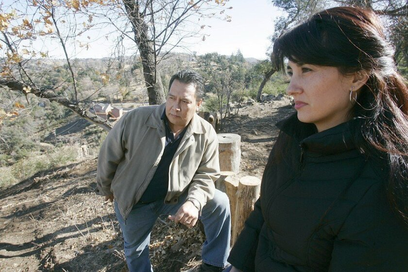 "Jaime and Laura Rodriguez are unhappy with a ruling in their dispute with the county for clearing brush off their land. ""I don't think they took into consideration a lot of the facts that we showed,"" Laura Rodriguez said."
