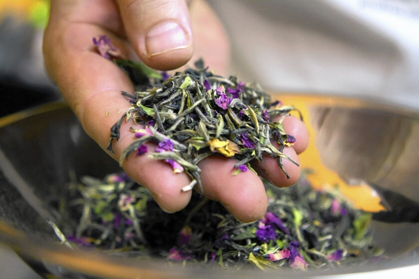 A custom tea business supplying high-end local restaurants and hotels is a blend of expertise and surprise