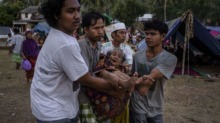 Powerful Earthquake Strikes Indonesia's Lombok Island
