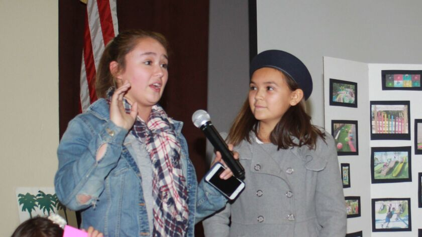 La Jolla children Hannah and Brooke FitzCluster offer their photos and ideas.