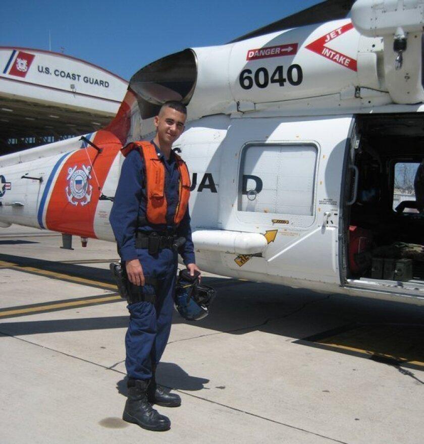 Coast Guard Petty Officer 3rd Class Paul Ramos.
