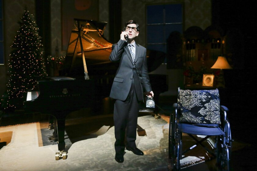 "A scene from ""Hershey Felder as Irving Berlin"" at Laguna Playhouse."