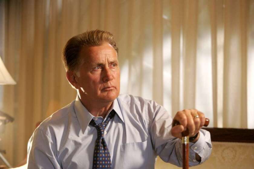 "Martin Sheen as President Josiah Bartlet in ""The West Wing."""