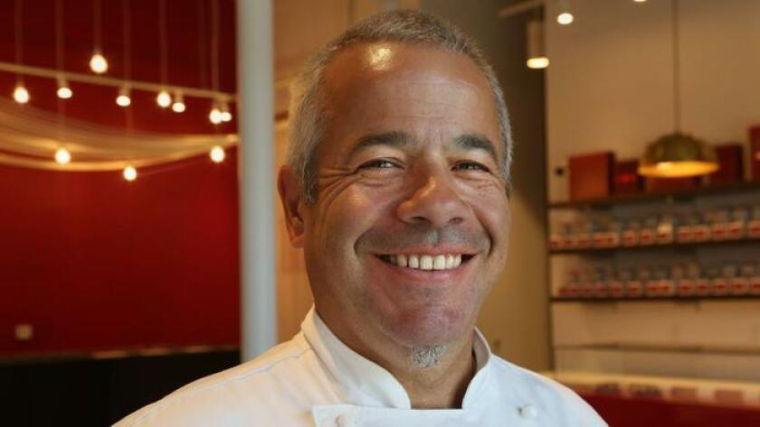 Michael Antonorsi, co-founder and master hocolatier of Chuao Chocolatier, in Carlsbad. (Peggy Peattie)