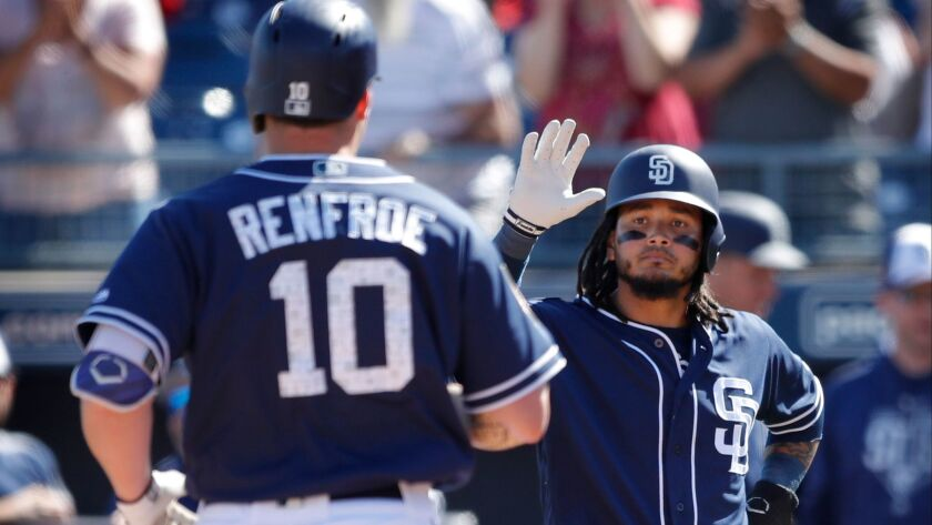 Hunter Renfroe, Freddy Galvis