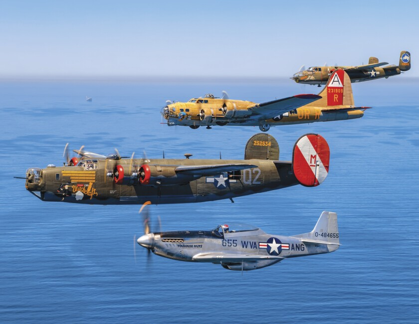 Fully restored bombers and fighters are part of the Wings of Freedom tour.
