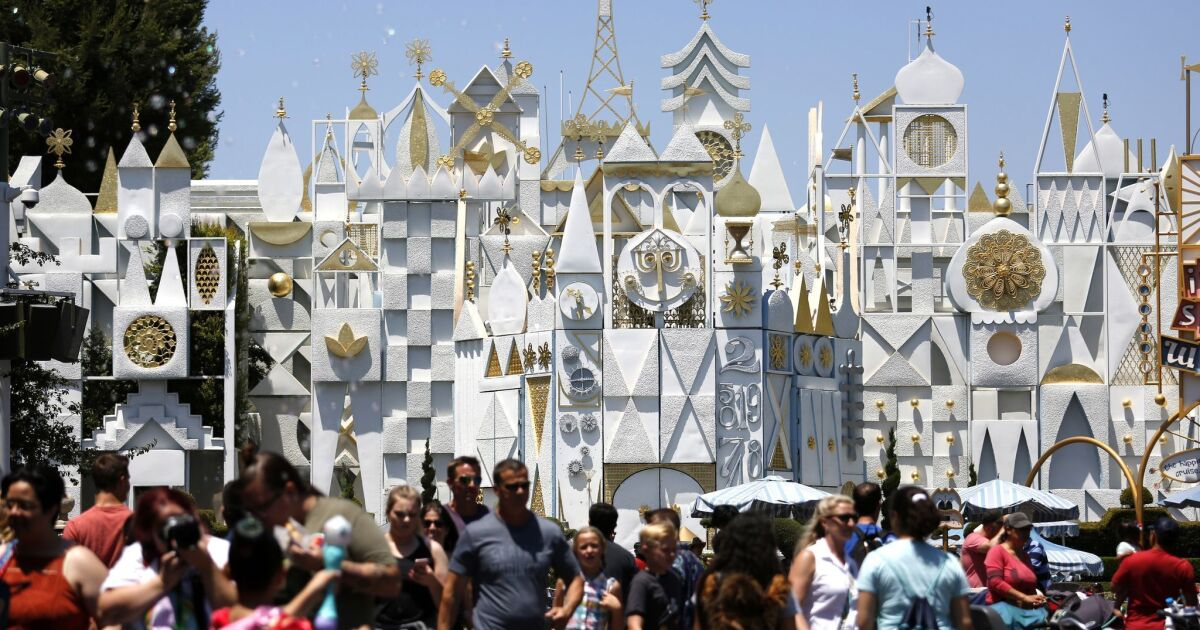 Which attractions will be open on Disneyland's opening day?