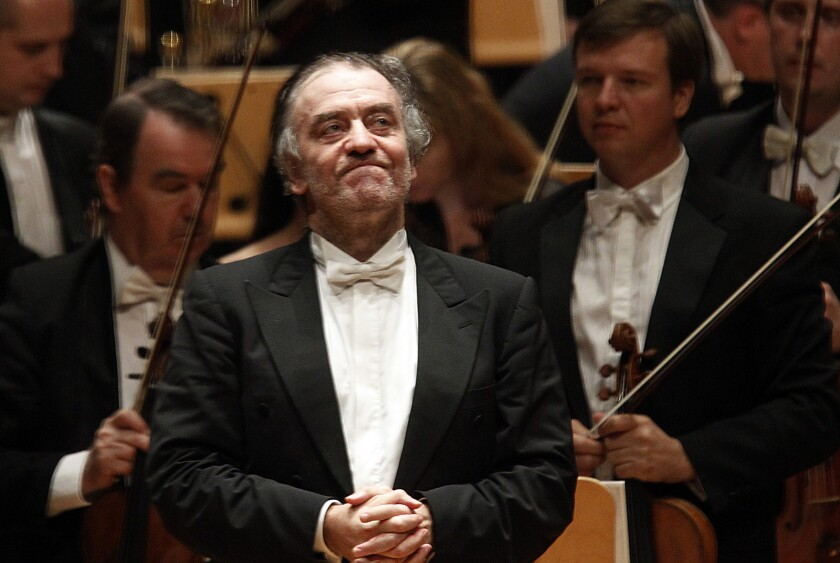 Maestro Valery Gergiev brings his Mariinsky Orchestra back to the Segestrom Concert Hall in Costa Mesa.