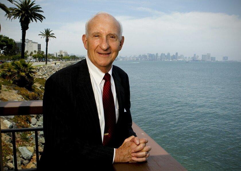 La Jolla philanthropist Ernest Rady