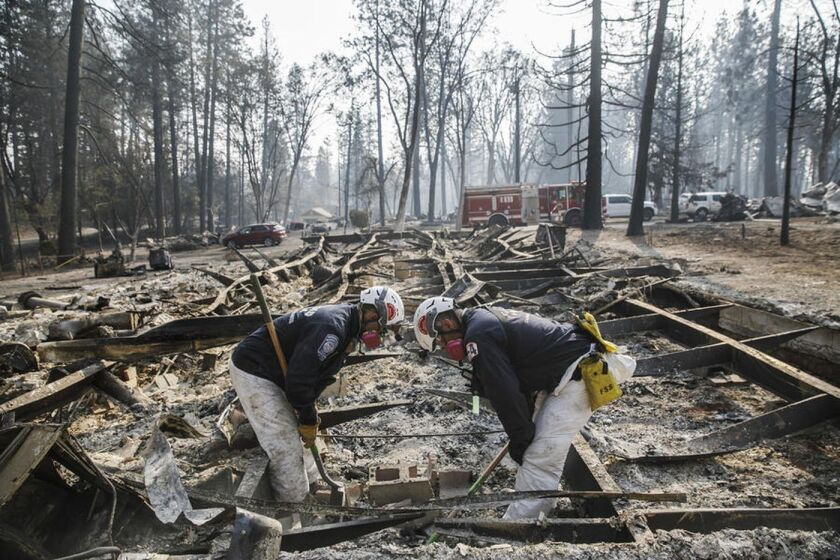California fires live updates: Camp fire death toll at 86