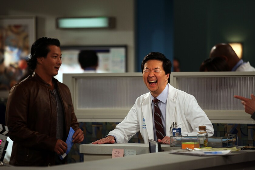 Is there a doctor in the house? Yep. Ken Jeong as 'Dr. Ken'