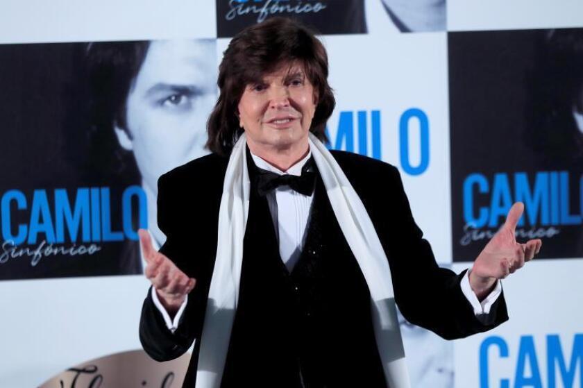 El mito de la canción Camilo Sesto muere en Madrid a los 72 años