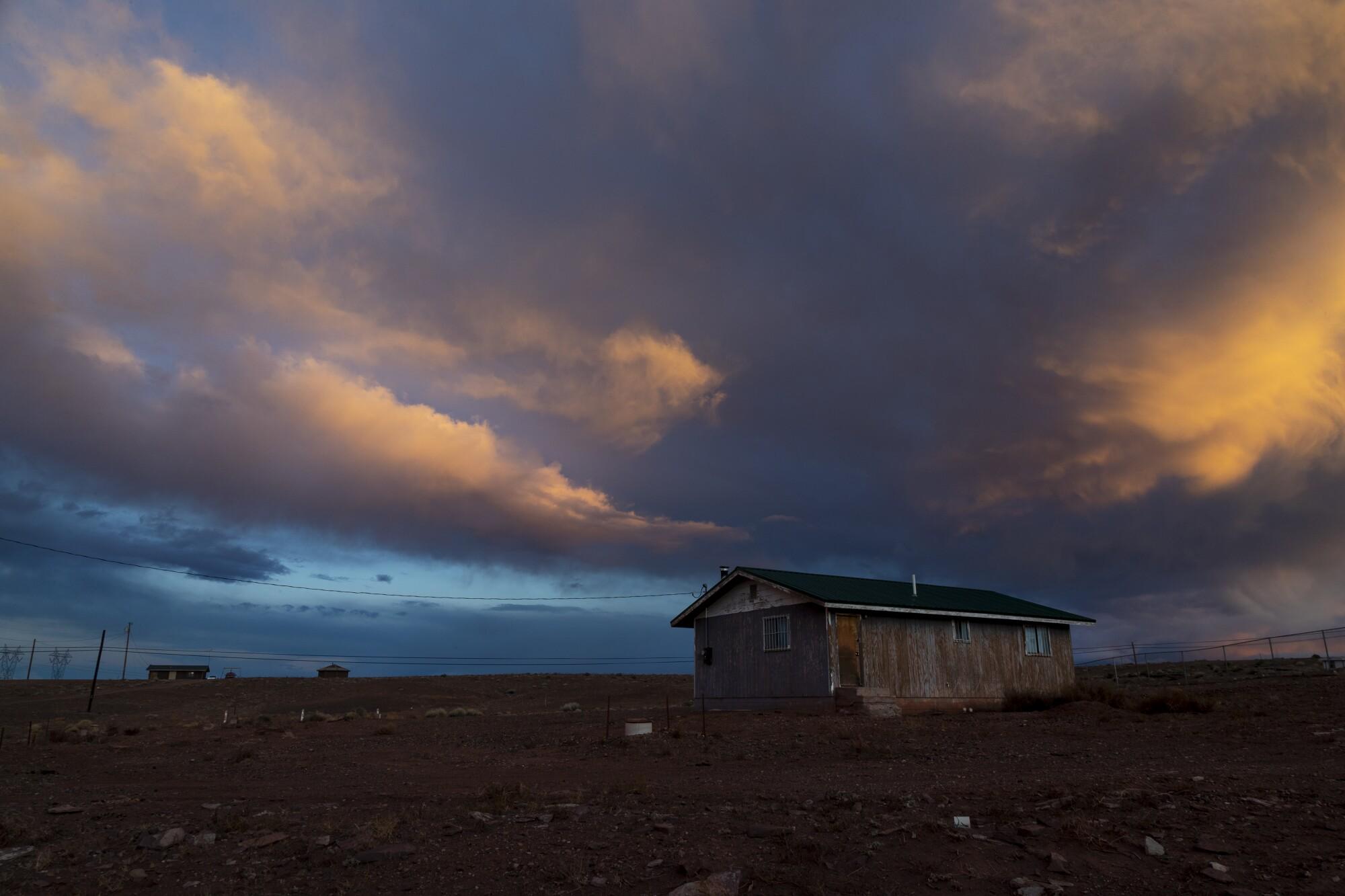 Navajo reservation in Cameron, Ariz.