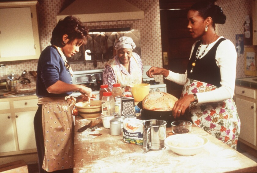"A scene from the 1997 film ""Soul Food,"" which inspired the Showtime series."
