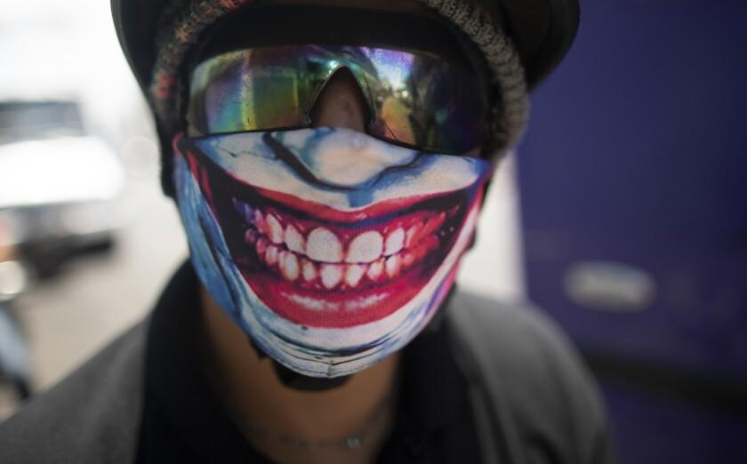 Virus Outbreak Latin America Masks