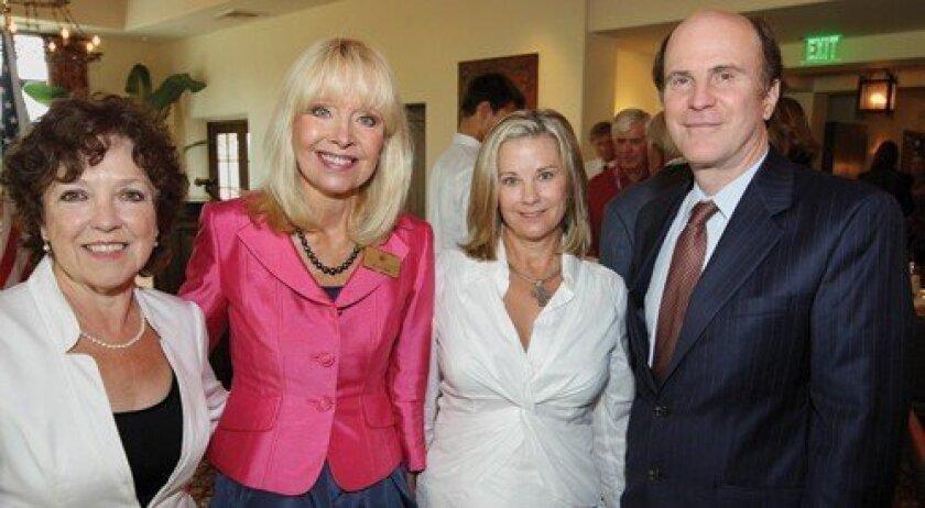 Gerda Snell, Sheryl Chase, Beth Wexler, Senator Mark Wyland