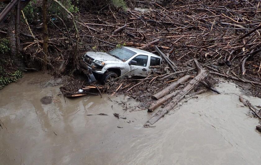 Santa Barbara mudslide