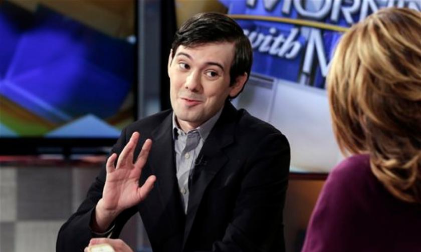 Martin Shkreli, ex director ejecutivo de Turing Pharmaceuticals, en una entrevista con la televisora Fox Business Network en Nueva York el 2 de febrero del 2016. (AP Photo/Richard Drew).