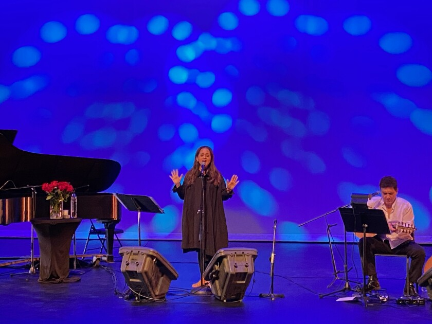 "Singer-songwriter Perla Batalla kicked off the San Diego Center for Jewish Culture's 2020-21 ""Arts & Ideas"" season online."