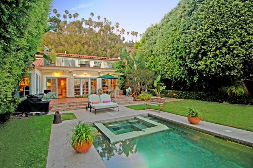 The former Santa Monica beach house of silent film star Douglas Fairbanks Sr. has sold.