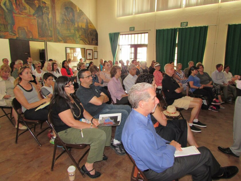 Both the 10:30 a.m. and 6:30 p.m. MAD community outreach meetings June 22 at the Rec Center, drew a full house.