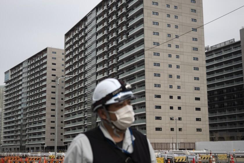 CORONAVIRUS-TOKIO-VILLA OLIMPICA