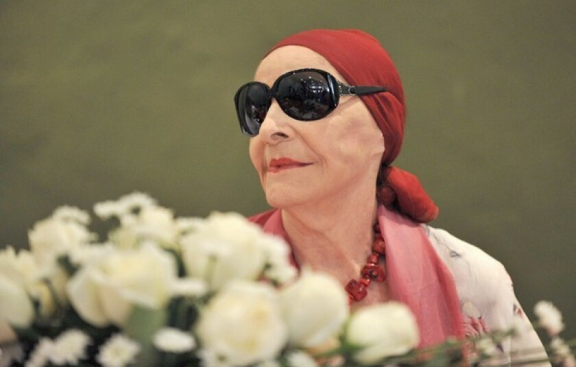 Alicia Alonso has died at 98. She performed for decades as dancer, and she founded the National Ballet of Cuba.