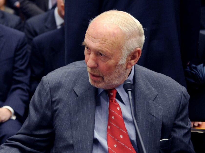 Billionaire-mathematician James Simons