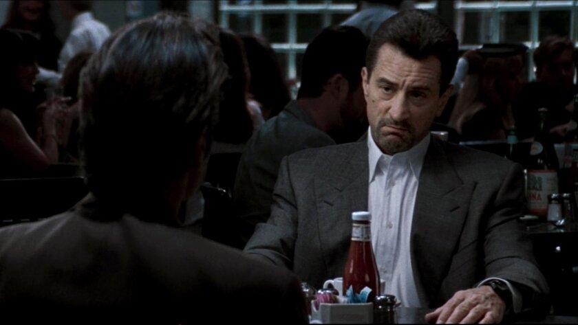"""Al Pacino and Robert De Niro in """"Heat."""""""