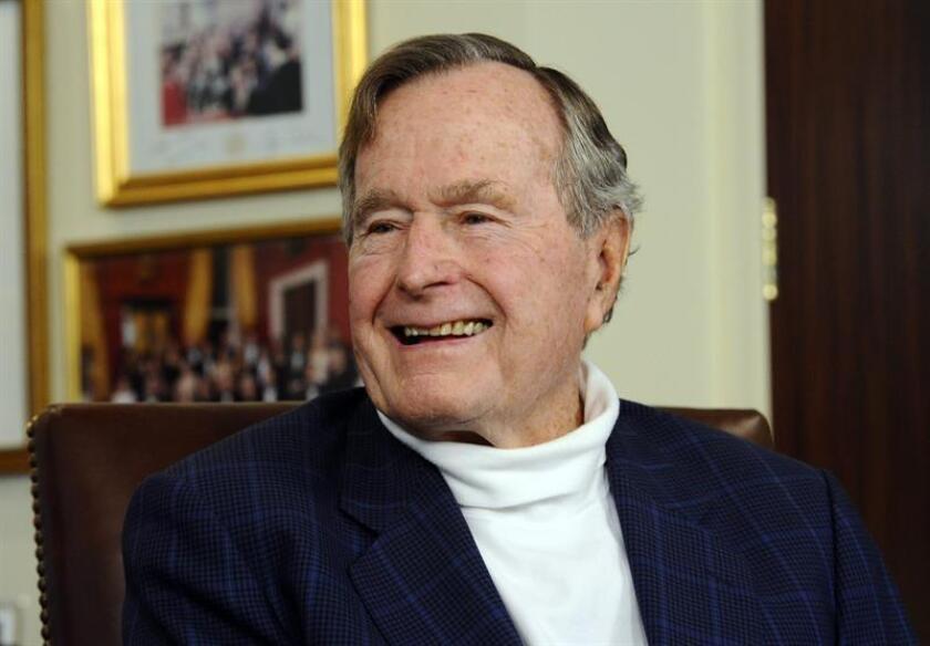 El expresidente George H.W. Bush. EFE/Archivo